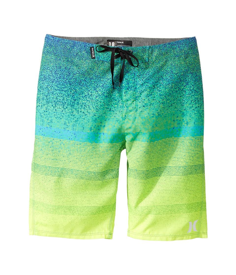 Hurley Kids Zion Boardshorts (Big Kids) (Turbo Green) Boy