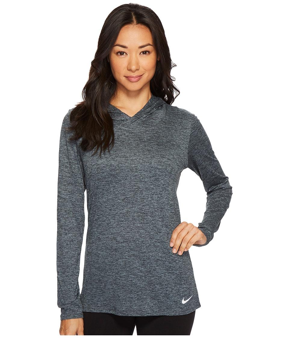 Nike Dry Legend Training Top (Black/Cool Grey/White) Women