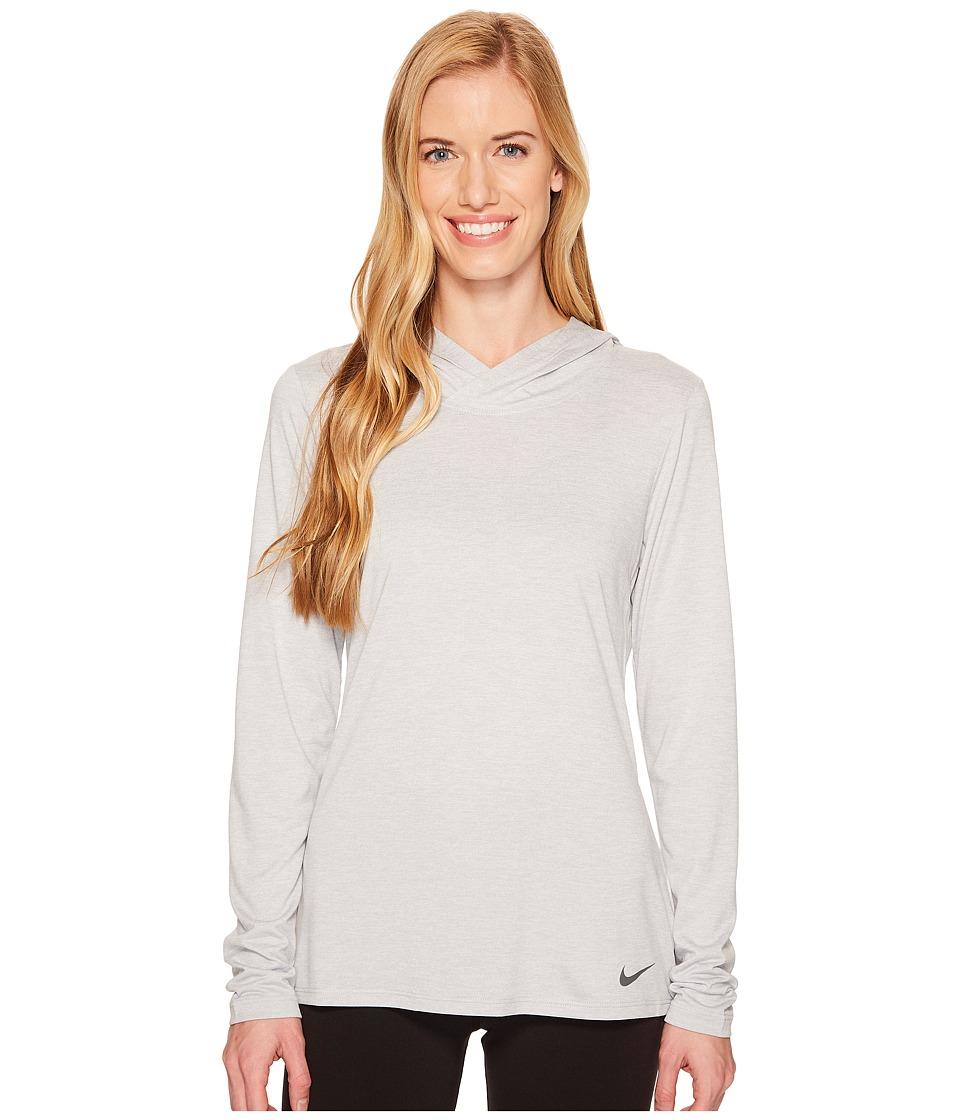 Nike Dry Legend Training Top (Wolf Grey/White/Dark Grey) Women
