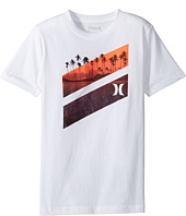 Hurley Kids - Icon Slash Lagoon Tee (Big Kids)