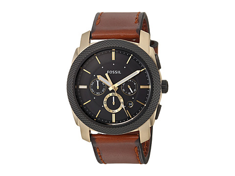 Fossil Machine Chronograph - FS5322 - Brown