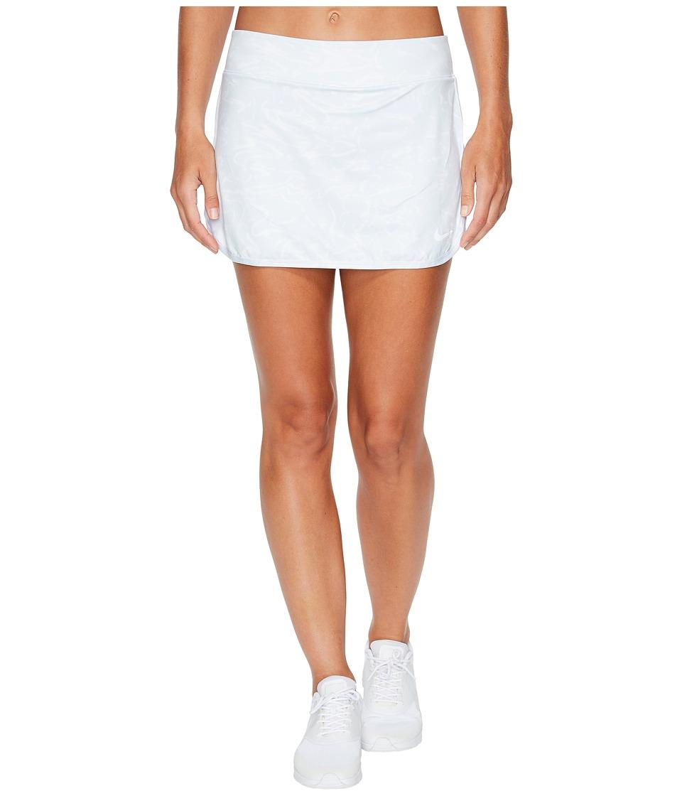 Nike Court Pure Tennis Skirt (White/Pure Platinum/White) Women