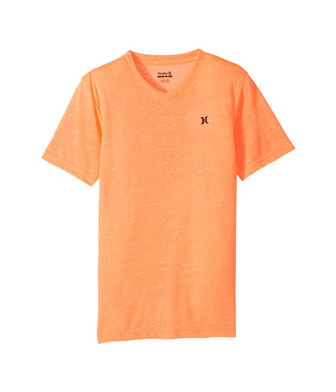 Hurley Kids Cloud Slub Staple V-Neck Tee (Big Kids)