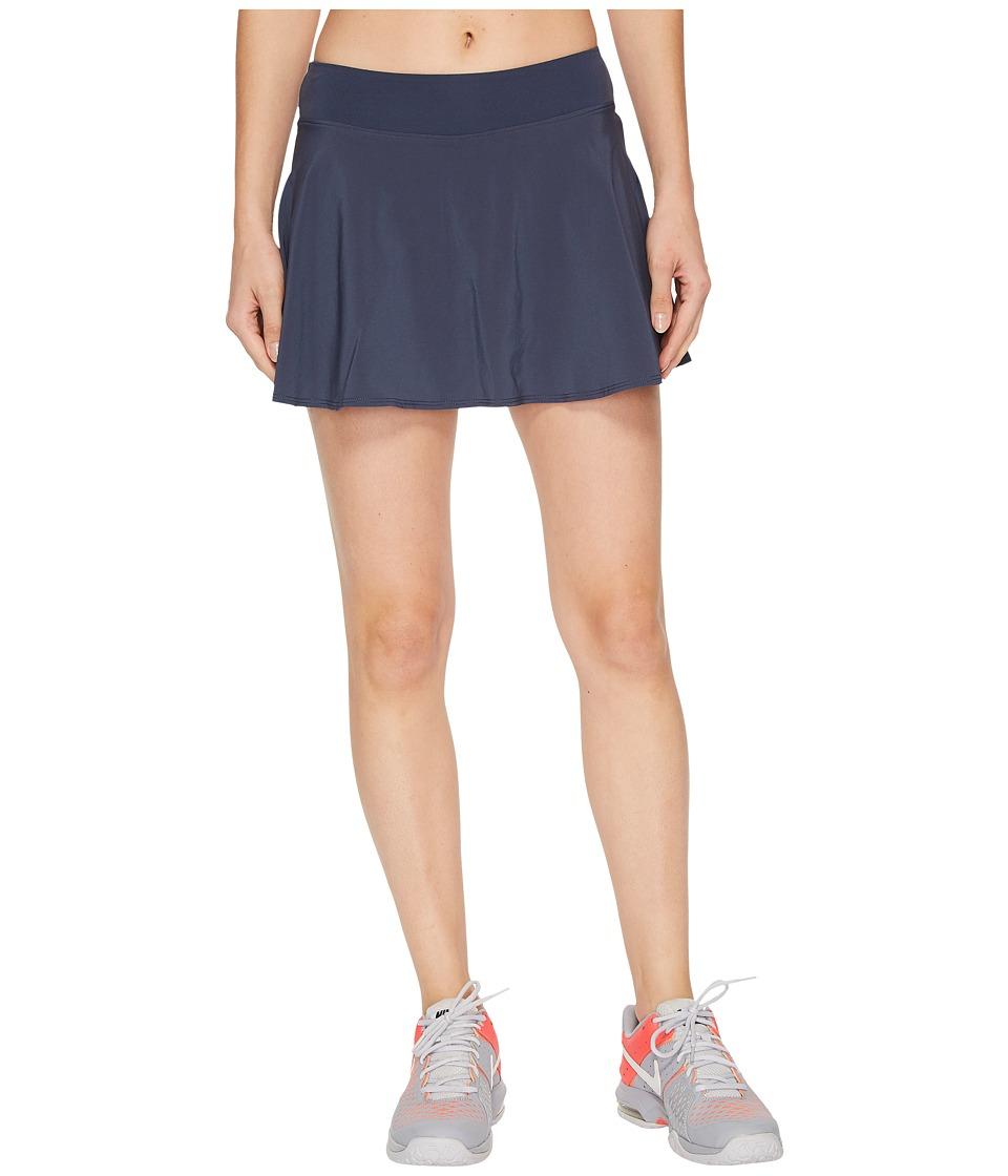 Nike Court Tennis Skirt (Thunder Blue/White) Women