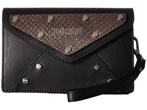 Just Cavalli Studded Clutch - Black