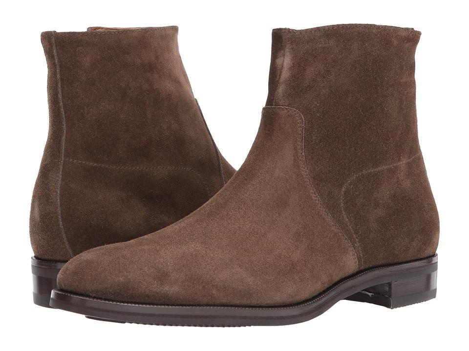 Gravati - Size Zip Plain Toe Suede Boot