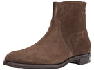 Gravati Size Zip Plain Toe Suede Boot