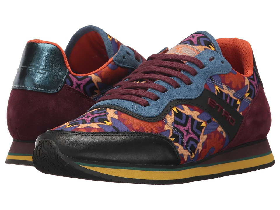 Etro - Ikat Print Sneaker (Redd) Women's Shoes