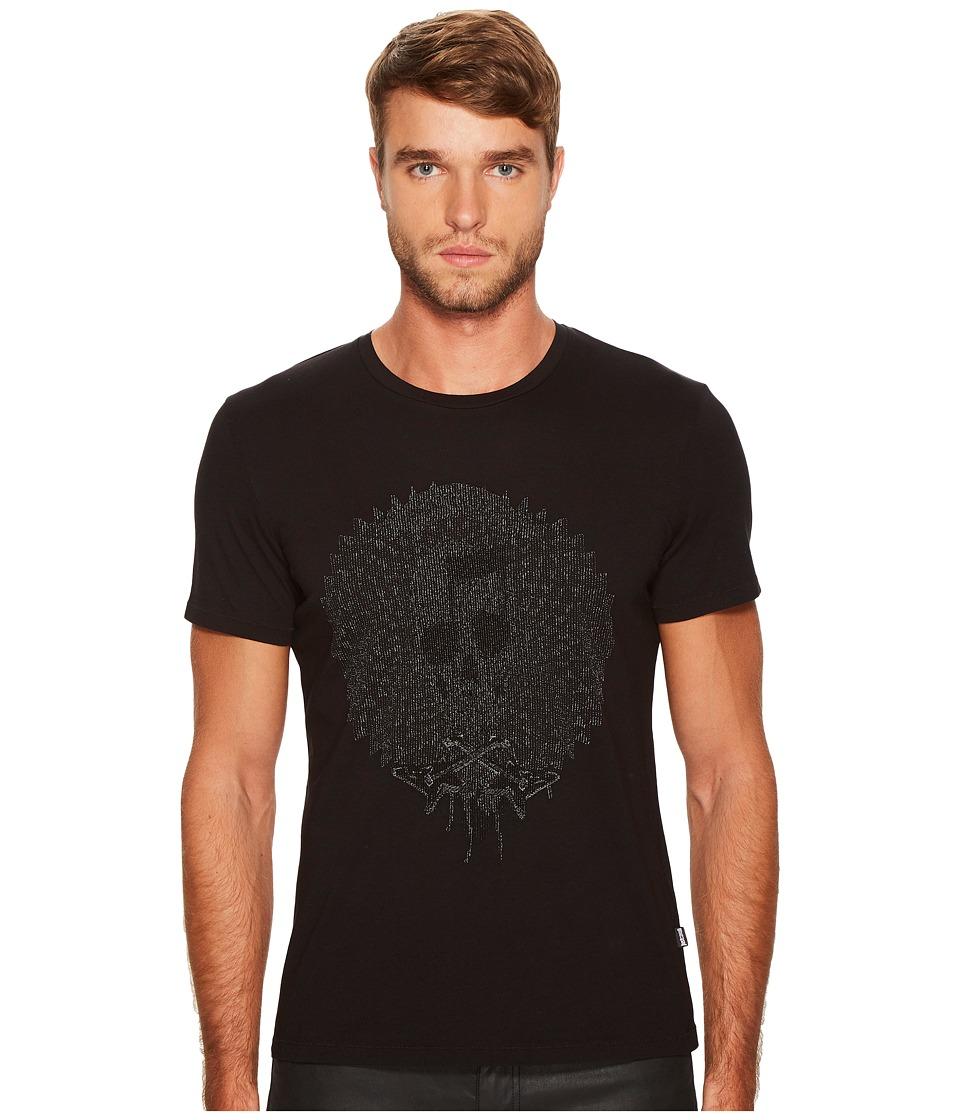 Just Cavalli Music Skull T-Shirt (Black) Men