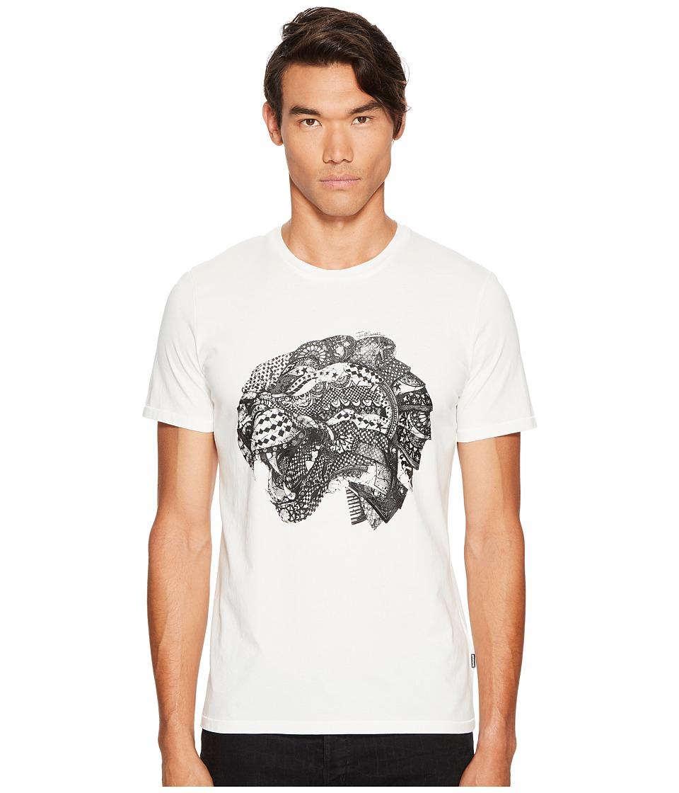 Just Cavalli Lion Head T-Shirt (White Milk) Men