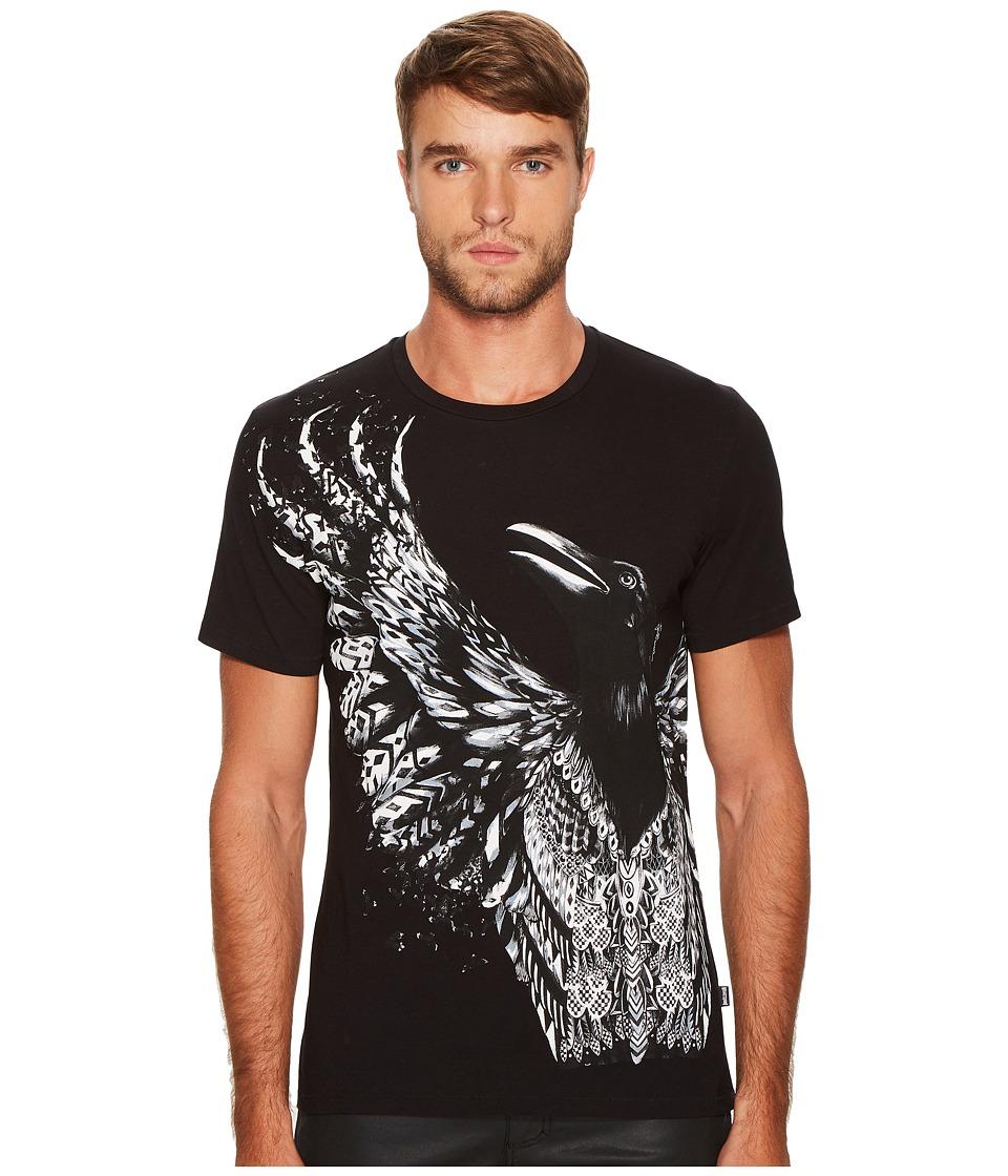 Just Cavalli Winged T-Shirt (Black) Men