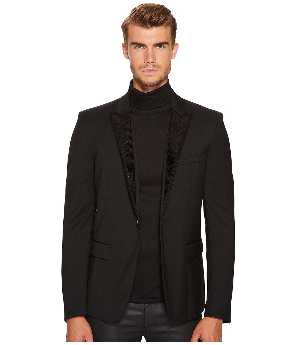 Just Cavalli - Embroidered Lapel Blazer