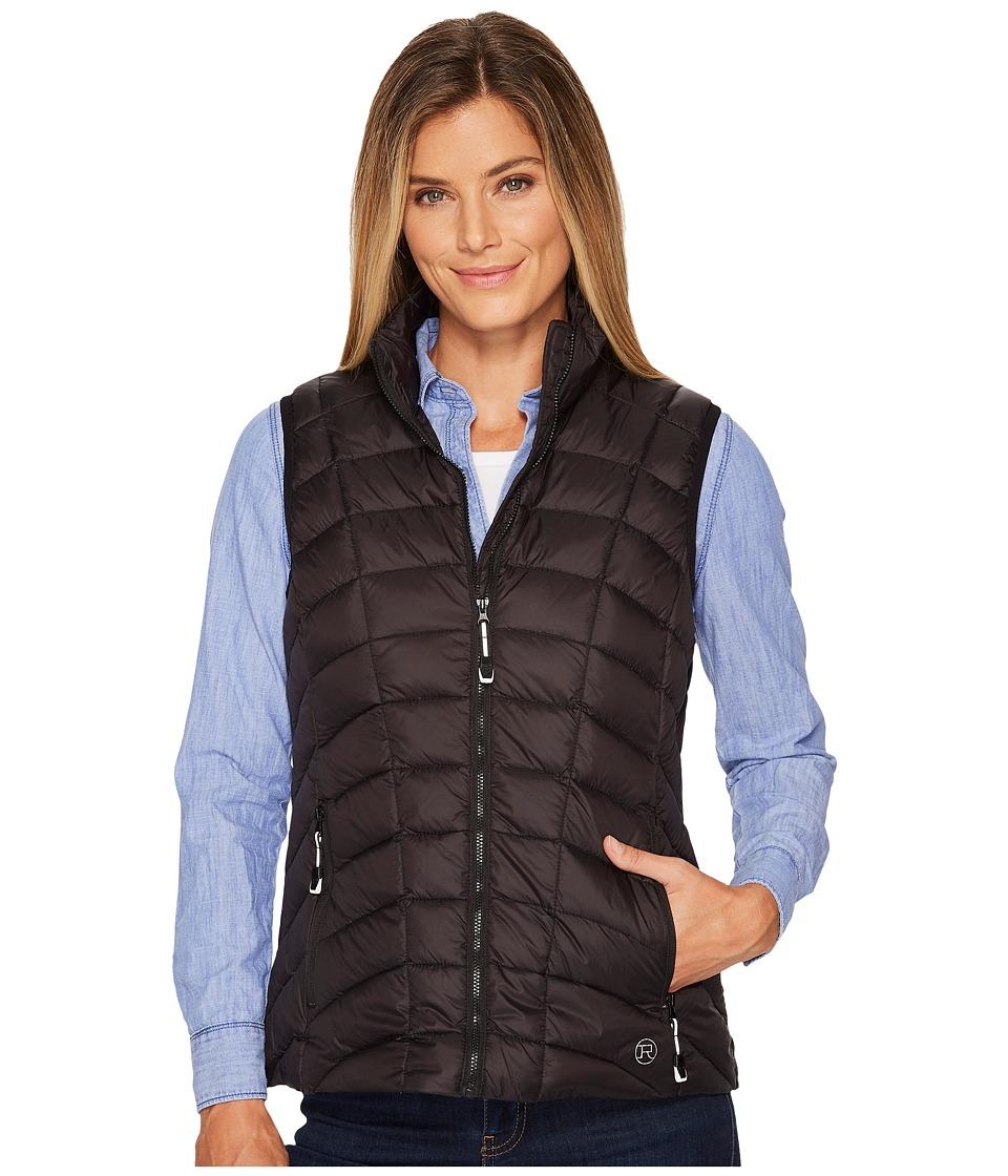 Roper 1411 Dull Black Down Vest (Black) Women