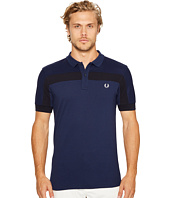 Fred Perry - Textured Panelled Pique Shirt
