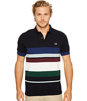 Fred Perry - Multi Stripe Pique Shirt