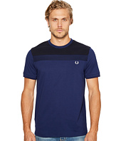 Fred Perry - Textured Panel T-Shirt