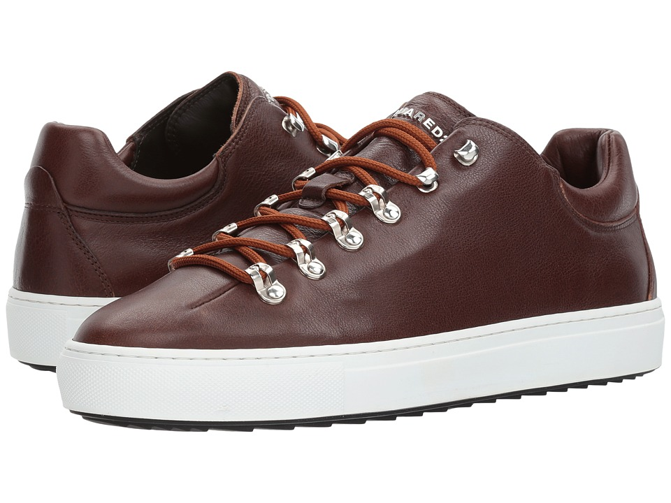 DSQUARED2 Whistler Low Top Sneaker (Cuoio) Men