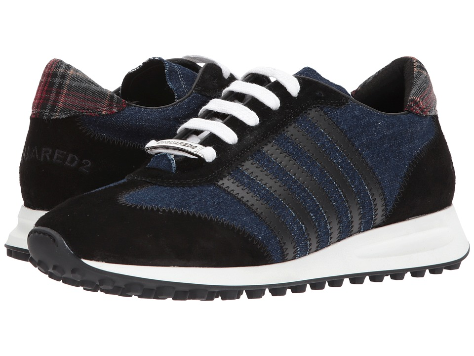 DSQUARED2 New Hiking Runner Sneaker (Denim) Men