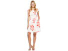Cap Sleeve Floral Fit & Flare Dress CD7MEA6T