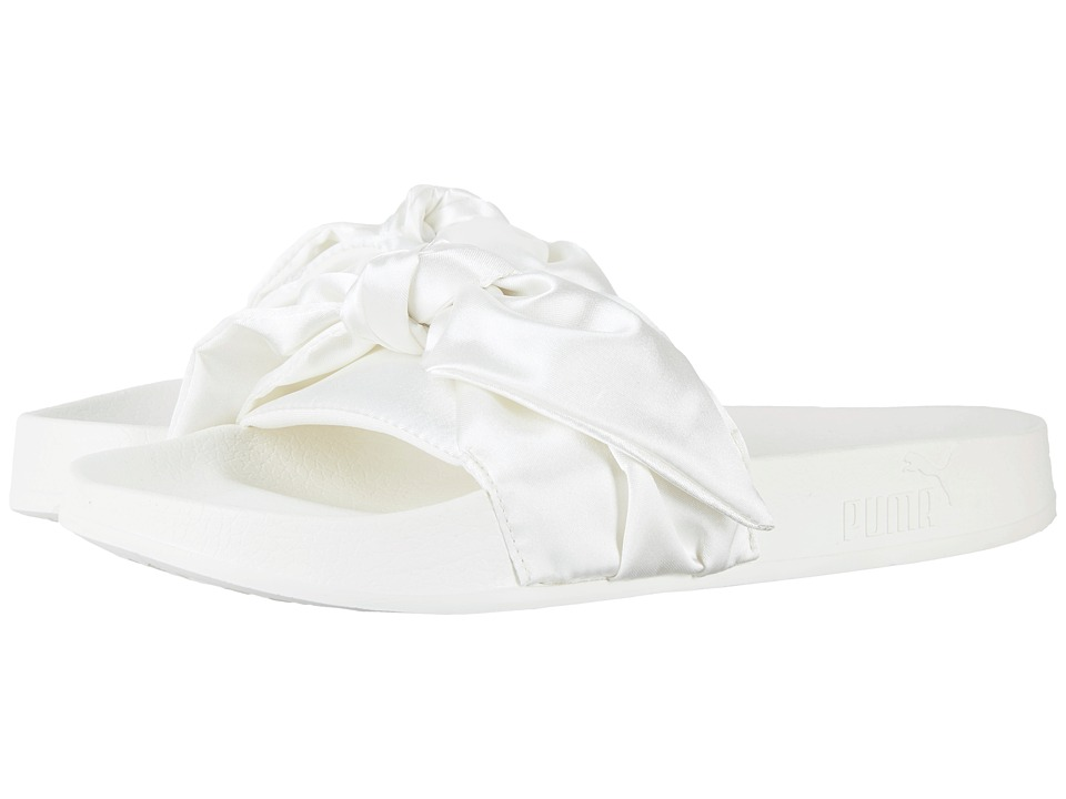 PUMA Bow Slide Fenty by Rihanna (Marshmallow/Puma Silver) Women