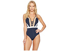 JETS by Jessika Allen - Deluxe Plunge One-Piece