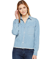 7 For All Mankind - Step Hem Denim Shirt in Skyway Authentic Blue