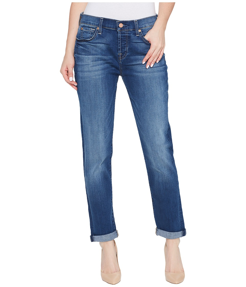 7 For All Mankind Josefina Jeans in Rich Coastal Blue (Rich Coastal Blue) Women