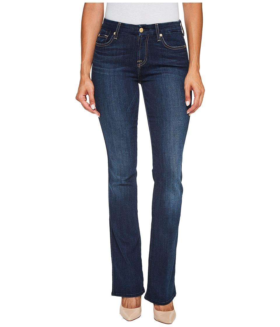 7 For All Mankind Kimmie Bootcut Jeans in Dark Moonlight Bay (Dark Moonlight Bay) Women