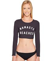 Spiritual Gangster - Namaste Beaches Dawn Rashguard