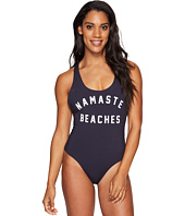 Spiritual Gangster - Namaste Beaches Statement One-Piece