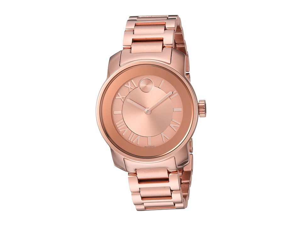 Movado - Bold - 3600441 (Ionic Rose Gold Plated Steel) Watches