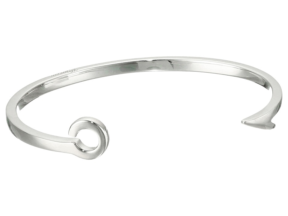 Miansai - Fish Hook Cuff (Polished Silver) Bracelet