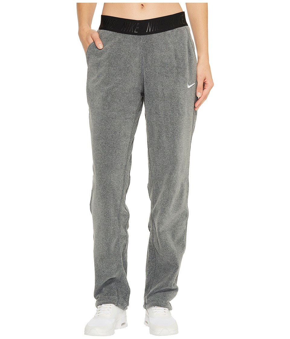 Nike Therma Tapered Training Pant (Black/Heather/White) Women