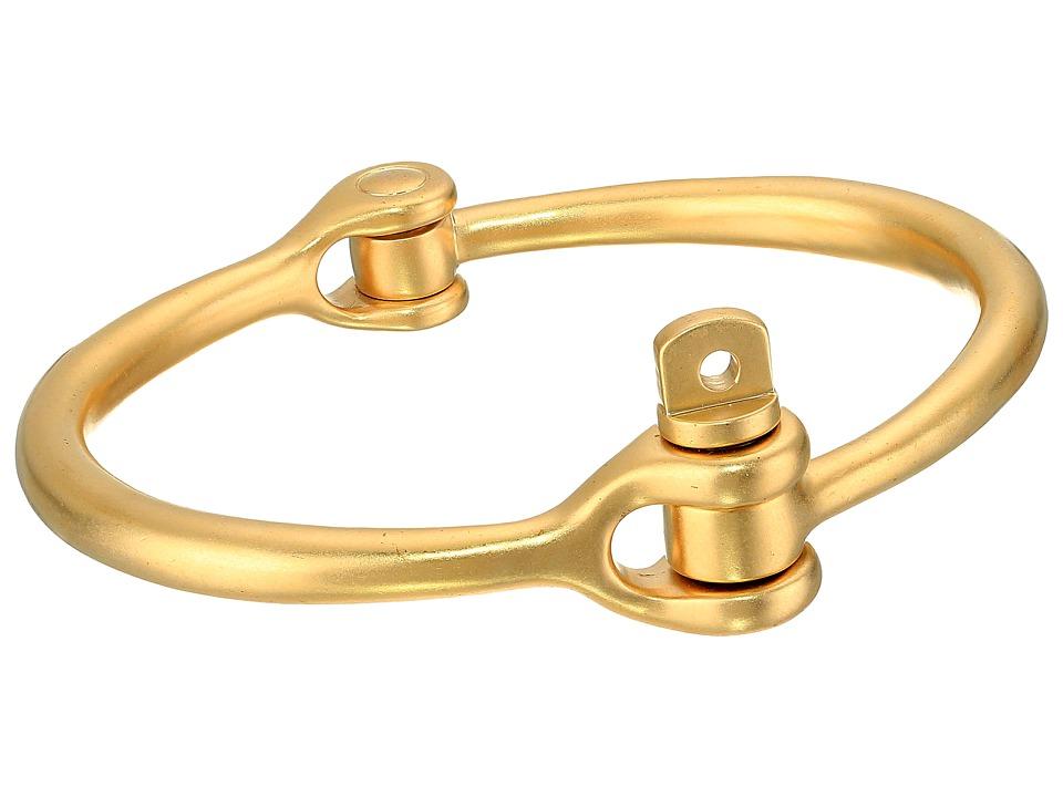 Miansai - Reeve Cuff (Matte Brass) Bracelet