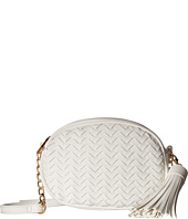 Deux Lux - Sullivan Oval Weave Crossbody with Tassel
