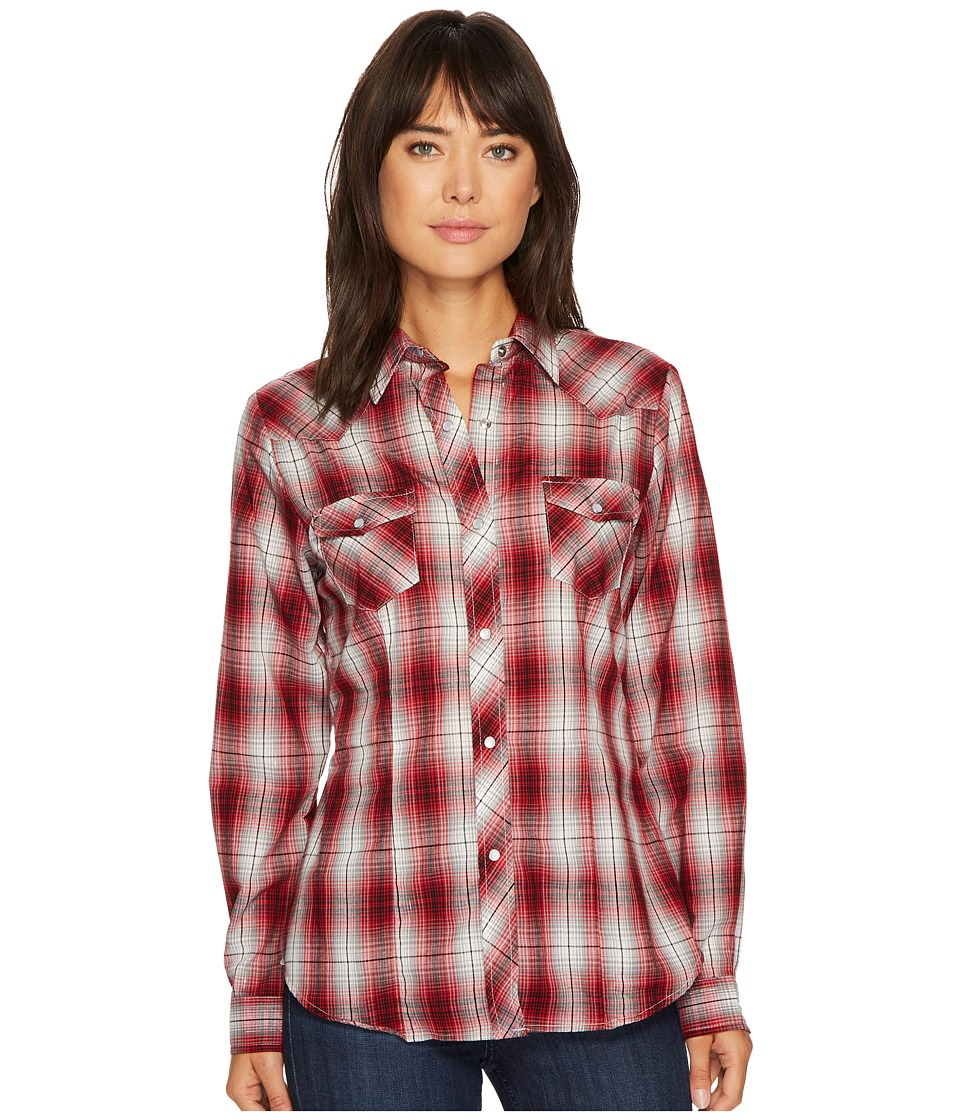 Roper - 1213 Red, Grey and Black Plaid
