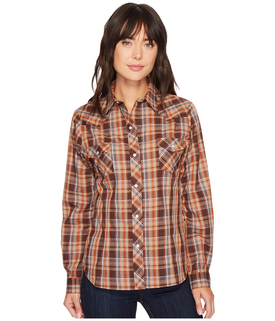 Roper - 1212 Chocolate Rust Plaid
