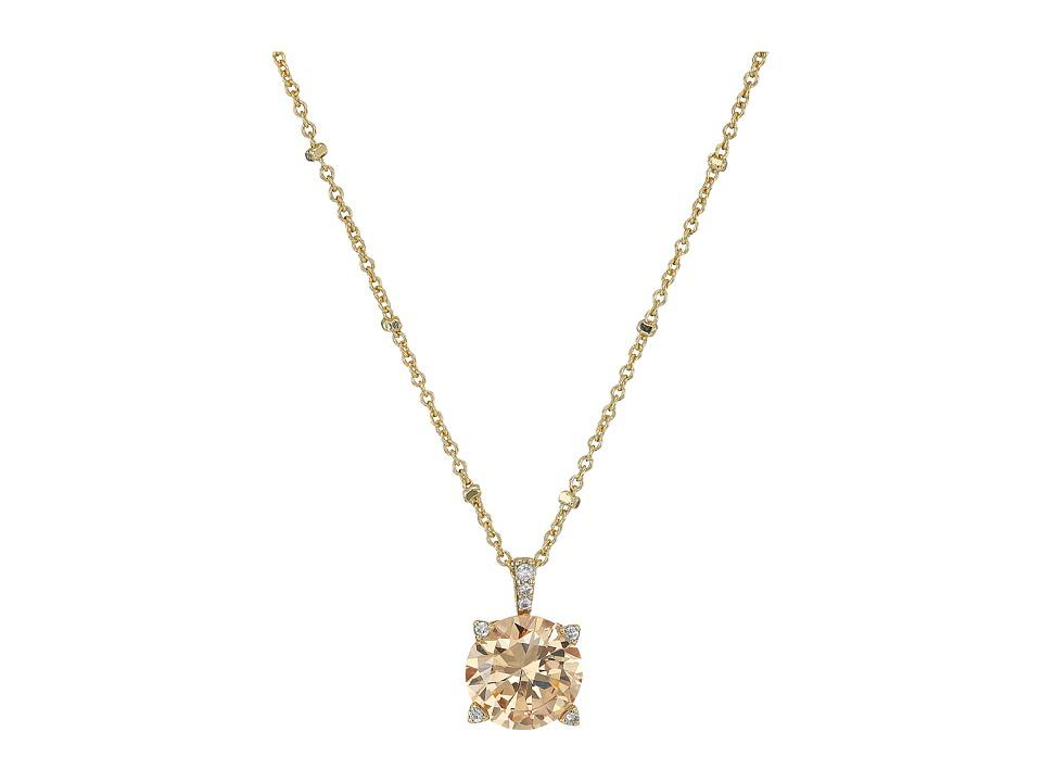 Vera Bradley - Sparkling Necklace (Gold Tone/Light Champagne) Necklace