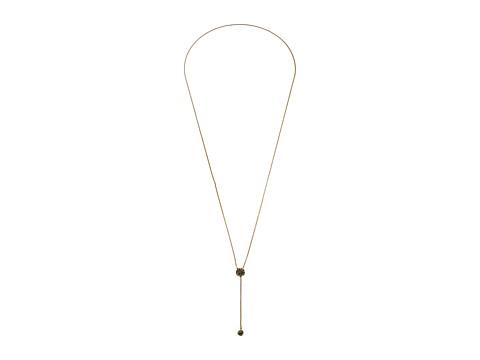 Vera Bradley Baubles Lariat Necklace - Gold Tone