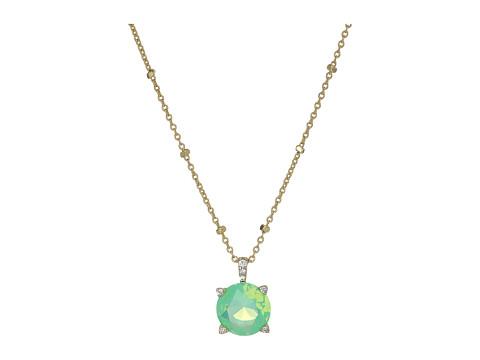 Vera Bradley Sparkling Necklace - Gold Tone/Green Opal
