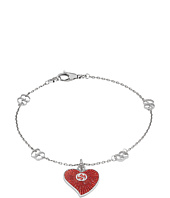 Gucci - Enameled Heart Bracelet