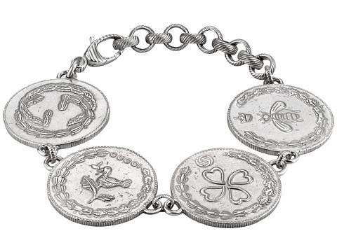 Gucci 4 Charm Coin Bracelet
