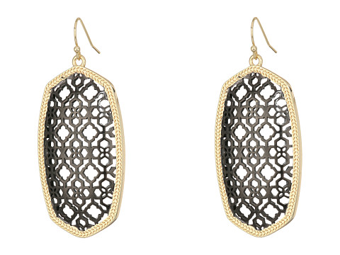 Kendra Scott Danielle Earring - Gold/Gunmetal Filigree Mix