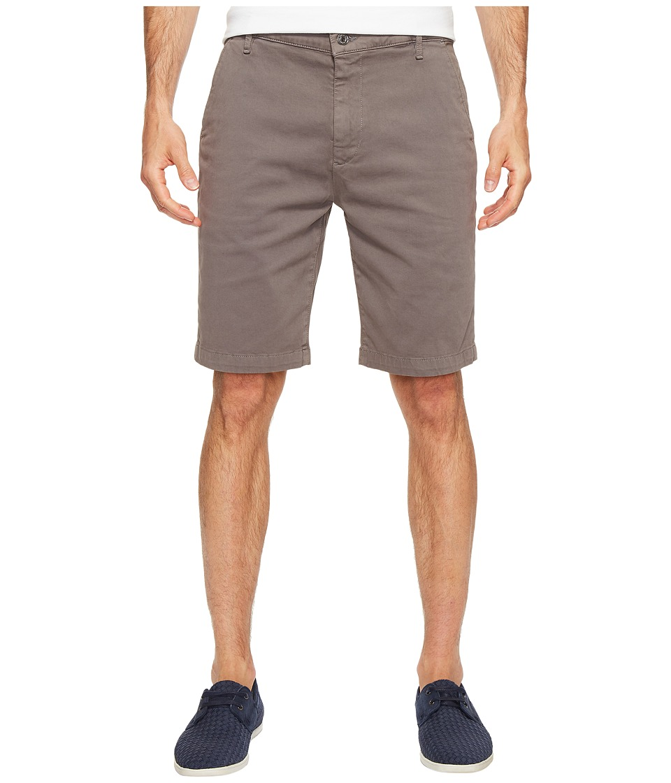 7 For All Mankind Luxe Performance Sateen Chino Shorts (Shaded Stone) Men