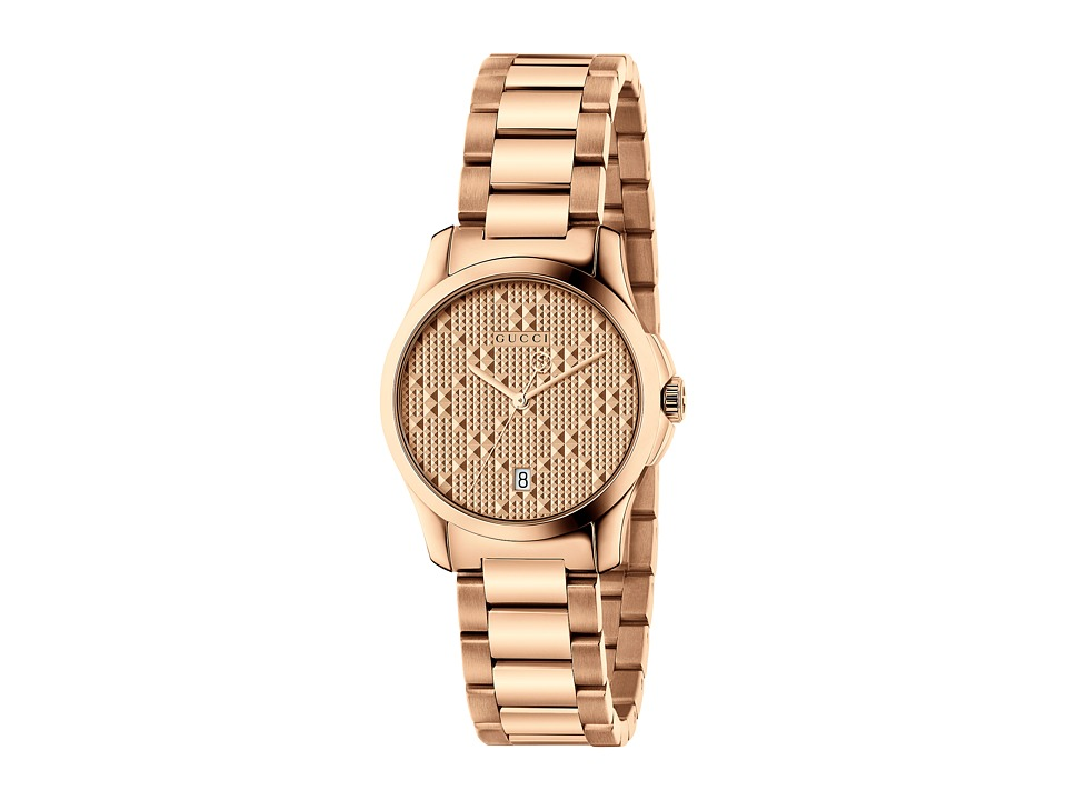 Gucci G-Timeless - YA126567 (Rose Gold) Watches