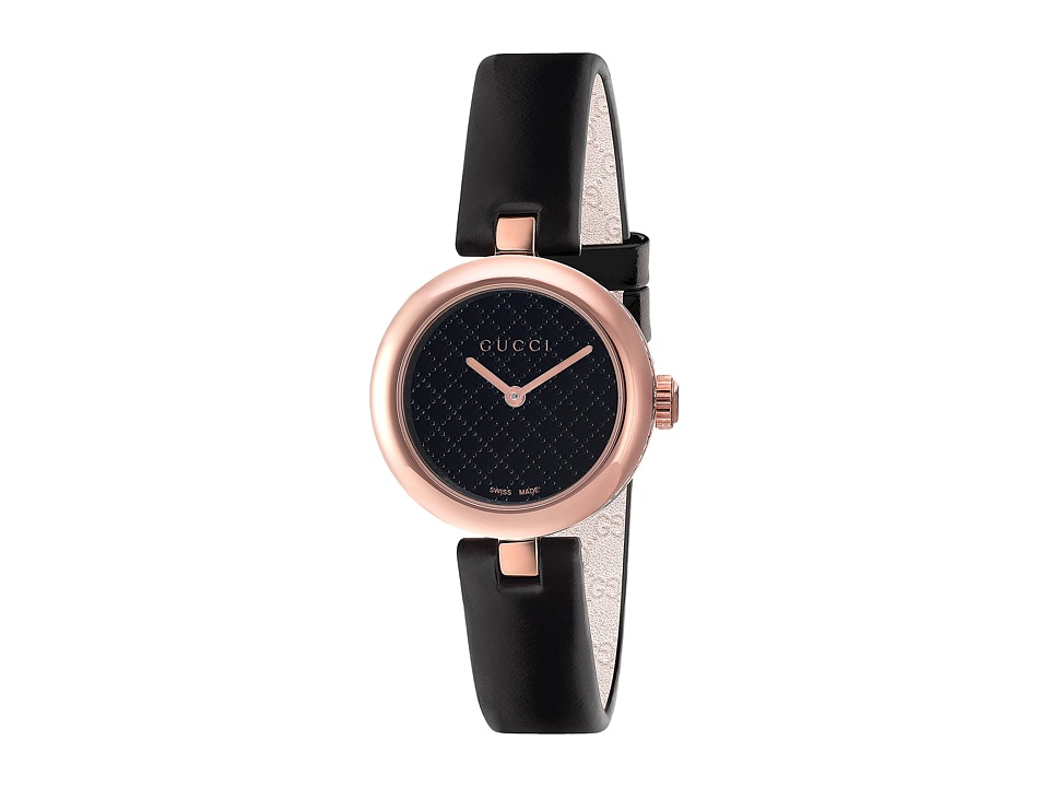 Gucci Diamantissima - YA141501 (Black) Watches