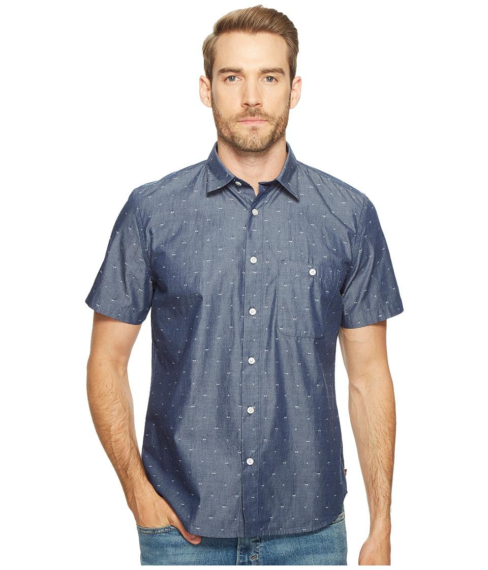 7 For All Mankind - Short Sleeve Mini Bikini Print Shirt
