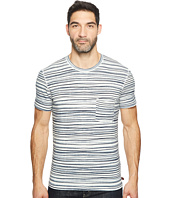 7 For All Mankind - Short Sleeve Abstract Stripe Tee