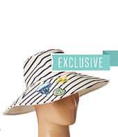 Hat Attack - Reversible Sun Hat w/ Nautical Patches