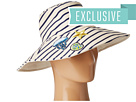 Reversible Sun Hat w/ Nautical Patches